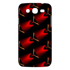 Fractal Background Red And Black Samsung Galaxy Mega 5.8 I9152 Hardshell Case