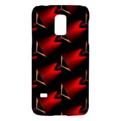 Fractal Background Red And Black Galaxy S5 Mini