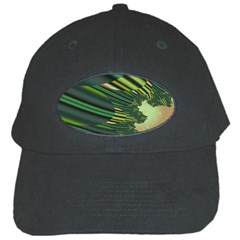 A Feathery Sort Of Green Image Shades Of Green And Cream Fractal Black Cap