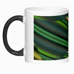 A Feathery Sort Of Green Image Shades Of Green And Cream Fractal Morph Mugs