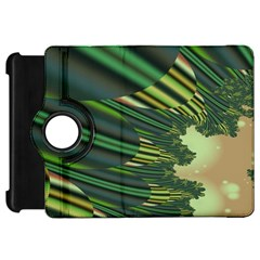 A Feathery Sort Of Green Image Shades Of Green And Cream Fractal Kindle Fire HD 7