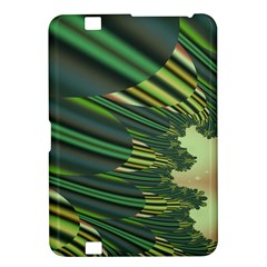 A Feathery Sort Of Green Image Shades Of Green And Cream Fractal Kindle Fire Hd 8 9
