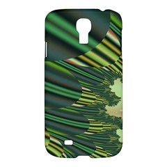 A Feathery Sort Of Green Image Shades Of Green And Cream Fractal Samsung Galaxy S4 I9500/I9505 Hardshell Case