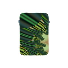 A Feathery Sort Of Green Image Shades Of Green And Cream Fractal Apple iPad Mini Protective Soft Cases