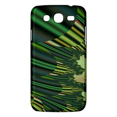 A Feathery Sort Of Green Image Shades Of Green And Cream Fractal Samsung Galaxy Mega 5.8 I9152 Hardshell Case