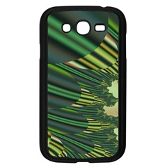 A Feathery Sort Of Green Image Shades Of Green And Cream Fractal Samsung Galaxy Grand DUOS I9082 Case (Black)