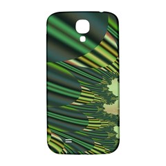 A Feathery Sort Of Green Image Shades Of Green And Cream Fractal Samsung Galaxy S4 I9500/I9505  Hardshell Back Case