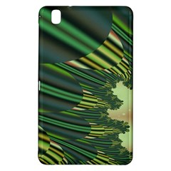 A Feathery Sort Of Green Image Shades Of Green And Cream Fractal Samsung Galaxy Tab Pro 8.4 Hardshell Case