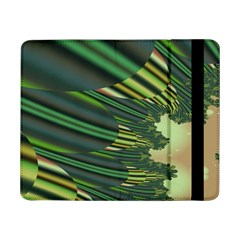 A Feathery Sort Of Green Image Shades Of Green And Cream Fractal Samsung Galaxy Tab Pro 8.4  Flip Case