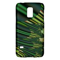 A Feathery Sort Of Green Image Shades Of Green And Cream Fractal Galaxy S5 Mini