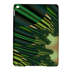 A Feathery Sort Of Green Image Shades Of Green And Cream Fractal Ipad Air 2 Hardshell Cases