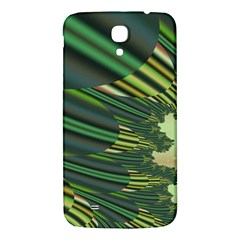 A Feathery Sort Of Green Image Shades Of Green And Cream Fractal Samsung Galaxy Mega I9200 Hardshell Back Case