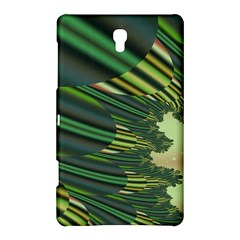 A Feathery Sort Of Green Image Shades Of Green And Cream Fractal Samsung Galaxy Tab S (8.4 ) Hardshell Case