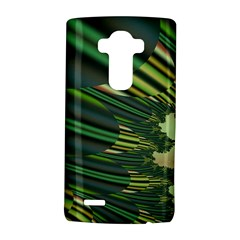 A Feathery Sort Of Green Image Shades Of Green And Cream Fractal Lg G4 Hardshell Case