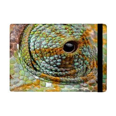 Macro Of The Eye Of A Chameleon Apple Ipad Mini Flip Case