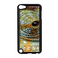 Macro Of The Eye Of A Chameleon Apple iPod Touch 5 Case (Black)