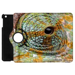 Macro Of The Eye Of A Chameleon Apple iPad Mini Flip 360 Case