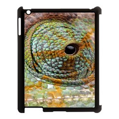 Macro Of The Eye Of A Chameleon Apple iPad 3/4 Case (Black)
