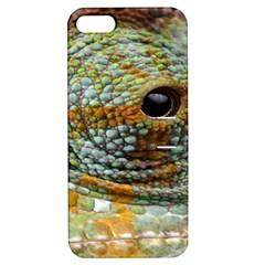 Macro Of The Eye Of A Chameleon Apple iPhone 5 Hardshell Case with Stand