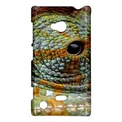 Macro Of The Eye Of A Chameleon Nokia Lumia 720