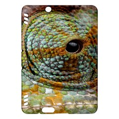 Macro Of The Eye Of A Chameleon Kindle Fire HDX Hardshell Case