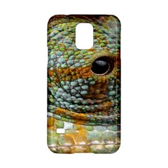 Macro Of The Eye Of A Chameleon Samsung Galaxy S5 Hardshell Case