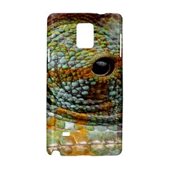 Macro Of The Eye Of A Chameleon Samsung Galaxy Note 4 Hardshell Case