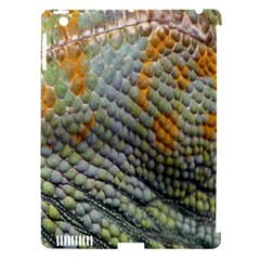 Macro Of Chameleon Skin Texture Background Apple Ipad 3/4 Hardshell Case (compatible With Smart Cover)