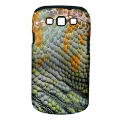 Macro Of Chameleon Skin Texture Background Samsung Galaxy S Iii Classic Hardshell Case (pc+silicone)