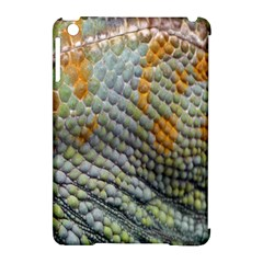 Macro Of Chameleon Skin Texture Background Apple iPad Mini Hardshell Case (Compatible with Smart Cover)