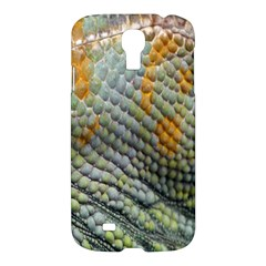 Macro Of Chameleon Skin Texture Background Samsung Galaxy S4 I9500/i9505 Hardshell Case