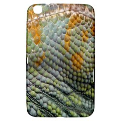 Macro Of Chameleon Skin Texture Background Samsung Galaxy Tab 3 (8 ) T3100 Hardshell Case