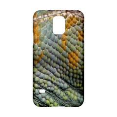 Macro Of Chameleon Skin Texture Background Samsung Galaxy S5 Hardshell Case