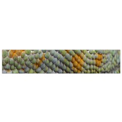 Macro Of Chameleon Skin Texture Background Flano Scarf (small)