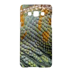 Macro Of Chameleon Skin Texture Background Samsung Galaxy A5 Hardshell Case