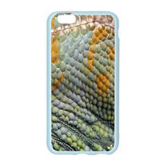 Macro Of Chameleon Skin Texture Background Apple Seamless iPhone 6/6S Case (Color)