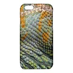 Macro Of Chameleon Skin Texture Background iPhone 6/6S TPU Case