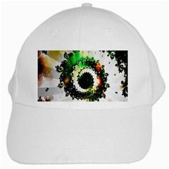 Fractal Universe Computer Graphic White Cap