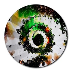 Fractal Universe Computer Graphic Round Mousepads