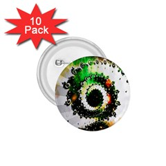Fractal Universe Computer Graphic 1 75  Buttons (10 Pack)