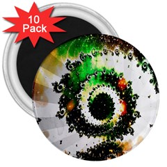Fractal Universe Computer Graphic 3  Magnets (10 pack)