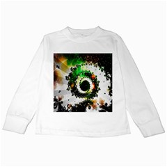 Fractal Universe Computer Graphic Kids Long Sleeve T Shirts