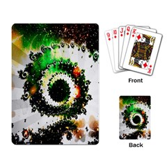 Fractal Universe Computer Graphic Playing Card