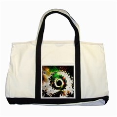 Fractal Universe Computer Graphic Two Tone Tote Bag