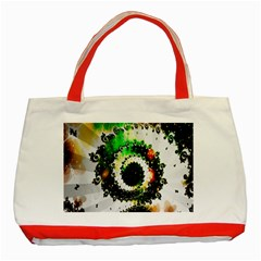 Fractal Universe Computer Graphic Classic Tote Bag (red)