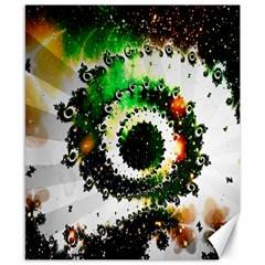 Fractal Universe Computer Graphic Canvas 8  X 10