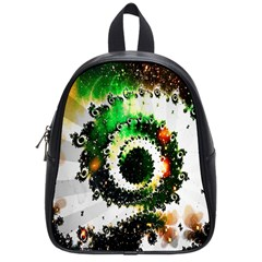 Fractal Universe Computer Graphic School Bags (small)