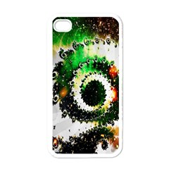 Fractal Universe Computer Graphic Apple Iphone 4 Case (white)