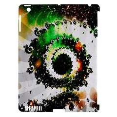 Fractal Universe Computer Graphic Apple iPad 3/4 Hardshell Case (Compatible with Smart Cover)