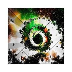 Fractal Universe Computer Graphic Acrylic Tangram Puzzle (6  x 6 )